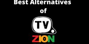 Best Alternatives of TVzion