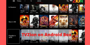 TVZion on Android Box