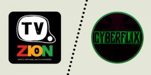 Tvzion vs Cyberflix TV